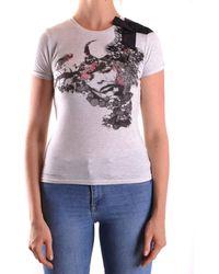Massimo Rebecchi - Men's Grey Cotton T-shirt - Lyst