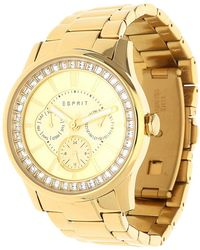 Esprit - Watch Starlite Gold Es105442008 - Lyst