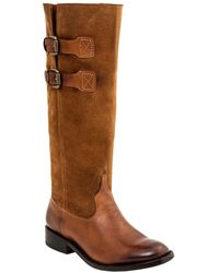 Lucchese - Women's Riding Leather Western Boot - Lyst