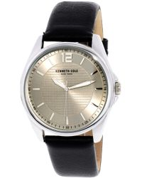 Kenneth Cole - Men's Dress Watch 10031396 Silver Stainless-steel Plated Quartz - Lyst