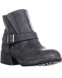 Madden Girl - Missionn Ankle Boots, Black Paris - Lyst