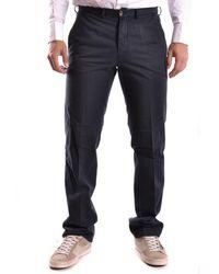 Ballantyne - Men's Mcbi032005o Blue Cotton Trousers - Lyst