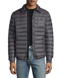 Slate & Stone - Quilted Puffer Jacket - Lyst