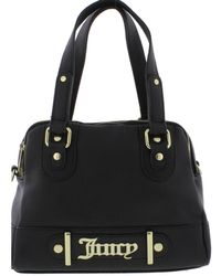 Juicy Couture - Womens Loudspeaker Faux Leather Logo Satchel Handbag - Lyst