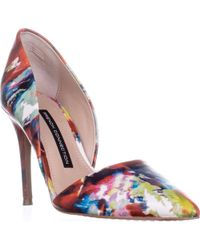 French Connection - Elvia D'orsay Heels, Fracture Floral - Lyst