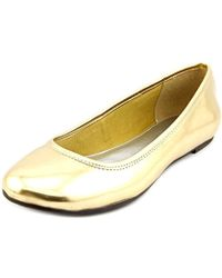 American Living - Dolores Women Round Toe Synthetic Flats - Lyst