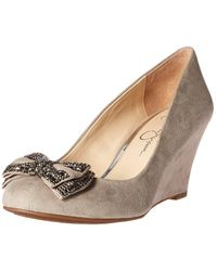 Jessica Simpson - Women's Selonia Wedge Pump - Lyst