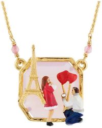 Les Nereides - From Paris With Love Marry Me Necklace - Lyst