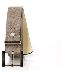 Guess - Women's Brown Leather Belt - Lyst