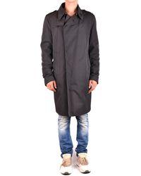 CoSTUME NATIONAL - Men's Mcbi074100o Black Polyester Coat - Lyst