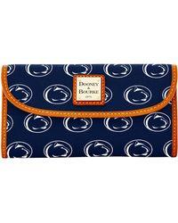 Dooney & Bourke - Ncaa Penn State Continental Clutch Wallet - Lyst