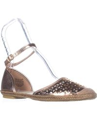 Wanted - Lido Ankle Strap Sandals, Rose Gold - Lyst