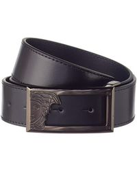 Versace - Versace Collection Leather Belt - Lyst