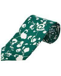 Cole Haan - Green Floral Silk-blend Tie - Lyst