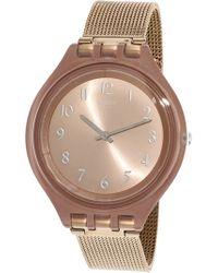 Swatch - Skinchic Svup100m Stainless-steel Swiss Quartz Fashion Watch - Lyst