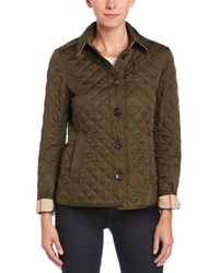 Burberry - Ashurst Diamond Quilted Jacket - Lyst