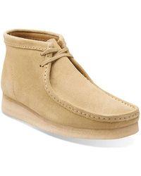 Clarks | Men's Wallabee Boot | Lyst