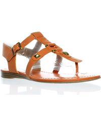34515e5ec69a Franco Sarto - Womens Geyser Lily Orange - Lyst