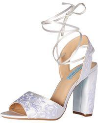 Betsey Johnson - Blue By Women's Sb-raine Dress Sandal - Lyst