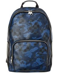 Louis Vuitton - Limited Edition Damier Cobalt Camouflage Canvas Andy - Lyst
