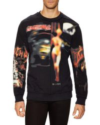 Givenchy - Printed Crewneck Sweater - Lyst
