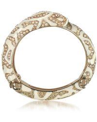 Roberto Cavalli - Women's Gold Metal Necklace - Lyst