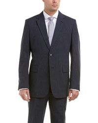 Façonnable - Cotton Suit With Flat Front Pant - Lyst