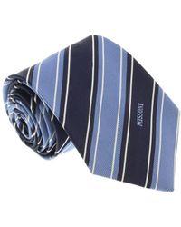 Missoni - U5270 Periwinkle/navy Repp 100% Silk Tie - Lyst