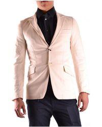 CoSTUME NATIONAL | Men's Mcbi074003o Beige Polyester Blazer | Lyst