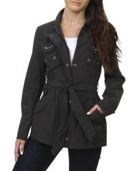 Buffalo David Bitton - Womens Twill Studded Jacket - Lyst