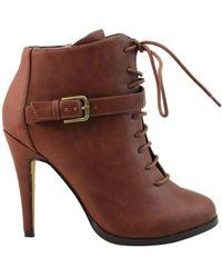 459cc3022ce Michael Antonio - Womens Lucy Closed Toe Ankle Fashion Boots - Lyst