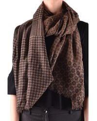 Altea - Women's Brown Wool Scarf - Lyst