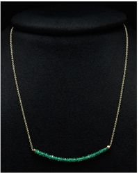 Meira T   14k Ombre Gemstone Necklace   Lyst