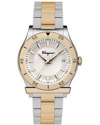 Ferragamo - 1898 Gent Watch, Model: Fh1050017 - Lyst
