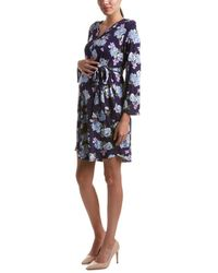 Everly Grey - Maternity Hudson Shirtdress - Lyst