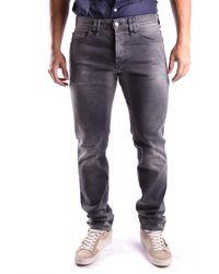 John Galliano - Men's Mcbi130021o Grey Cotton Jeans - Lyst