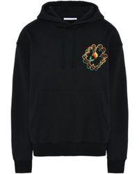 Stella McCartney - Men's Black Cotton Sweatshirt - Lyst