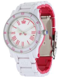 Juicy Couture - Watch Hrh White 1900750 - Lyst