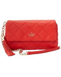 Kate Spade - Emerson Place Leather Crossbody - Lyst