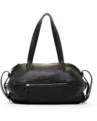 Susu - The Catherine Black Satchel Leather Shoulder Bag - Lyst