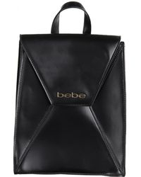 Bebe - Womens Evelyn Faux Leather Adjustable Straps Backpack - Lyst