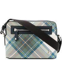 d9a3687099d2 Vivienne Westwood - Men s White Polyurethane Messenger Bag - Lyst