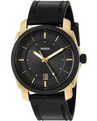 Fossil | Men's Leather Watch | Lyst