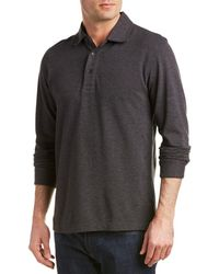 Brooks Brothers | Gentleman Oxford Wool-blend Polo Shirt | Lyst