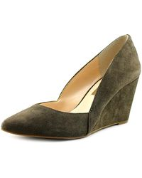 INC International Concepts - Womens Zarie Leather Closed Toe Wedge Pumps - Lyst