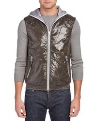 Duvetica - Anceo Hooded Vest - Lyst