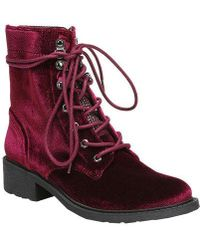 Circus by Sam Edelman - Dawson Lace-up Booties - Lyst