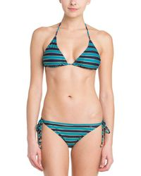 French Connection - Sun & Sea Blue Blood & Gold Stripe Bow Tie Brief - Lyst