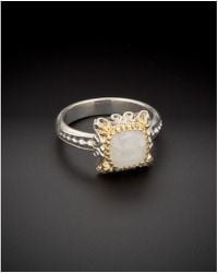 Konstantino - Erato 18k & Silver 1.50 Ct. Tw. Labradorite Ring - Lyst