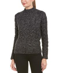 Six Crisp Days - Cable-knit Wool-blend Sweater - Lyst